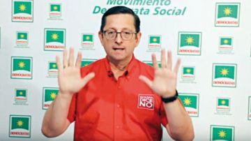 Balotaje: Ortiz dice que no votará por Evo