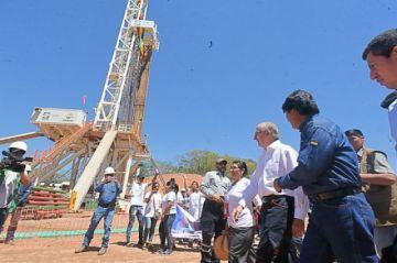 Inician perforación de pozo Boicobo Sur X1 en Chuquisaca