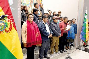 Las organizaciones afínes  anuncian defensa del MAS