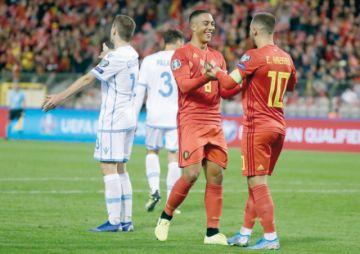 Bélgica clasifica a la Euro