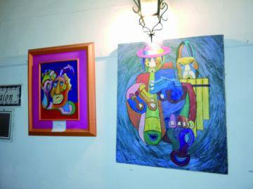 Gustavo Ayala, dispuesto a atrapar con sus pinturas