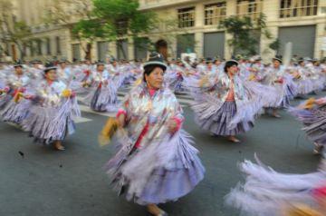 Bolivia baila en Buenos Aires