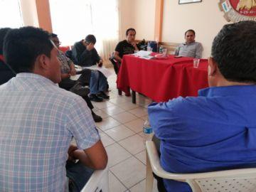 Cívicos de tres departamentos se reúnen en Sucre