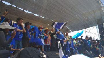 Pese a la tensión, el MAS desarrolla su cierre de campaña en Potosí