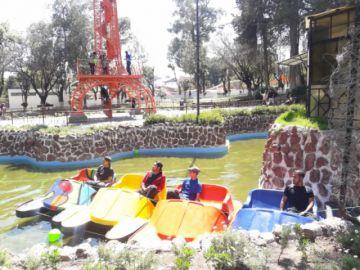 Vuelven los barcos de paseo al Parque Bolívar