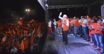 CC cierra campaña hoy en Sucre con caravana