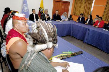 Ecuador: Acuerdo frena protestas de sectores sociales