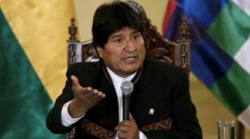 """Evo reitera denuncia de planificación de """"golpe de estado"""" y dice tener pruebas"""