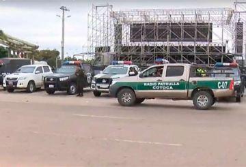 Policía aprehende al Presidente de la Unión Juvenil Cruceñista
