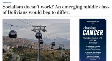 The Washington Post elogia al gobierno de Morales y diferencia a Bolivia de Venezuela
