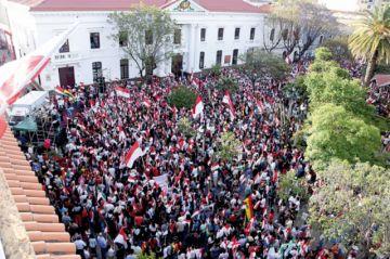 En Tarija y Oruro: Deciden desconocer victoria del MAS