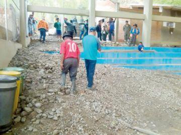 El granizo afectó a 600 familias de Chuquisaca