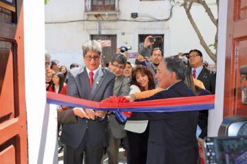 Inauguración de oficinas en la USFX