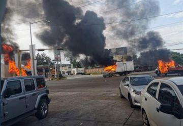 Presunta captura de hijo del Chapo desata violencia en Culiacán
