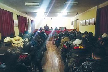 Cívicos ratifican continuidad de huelga general en Potosí