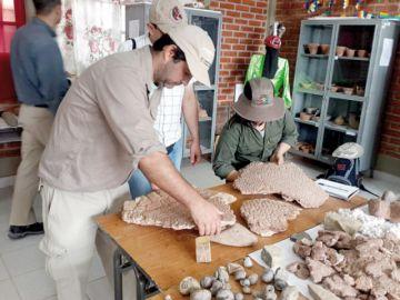 Colegio de Potolo atrae  atención de científicos