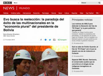 Elecciones en Bolivia: Percepción de la prensa internacional