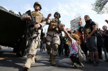 Ejército decreta toque de queda en Santiago de Chile por disturbios