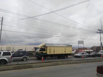 Reclaman demora en la inspección vehicular en el punto de Villa Margarita