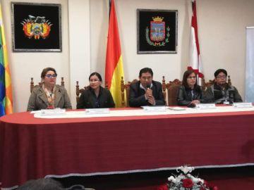 Inauguran jornada electoral en Chuquisaca