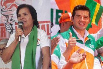 Opositores Tejerina y Fernández ganan en las circunscripciones de Sucre
