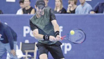 Murray regresa  a una final luego  de dos años