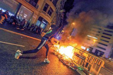 División en España se agudiza por violencia