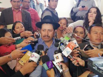 """Urquizu: """"En Bolivia no hay segunda vuelta"""""""