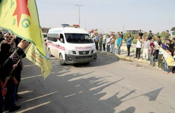 Kurdos aceptan pacto y ceden ciudad a los turcos