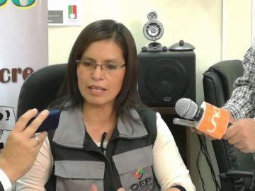 Olga Mary Martínez renuncia al cargo del vocal del TED Chuquisaca