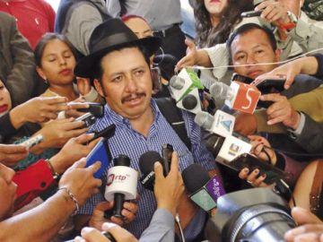 Urquizu promete revertir derrota del MAS en Sucre