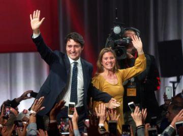 Trudeau gana las elecciones, pero pierde la mayoría y el voto popular