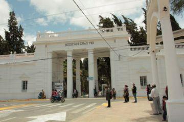 Este viernes concluye el plazo de refacciones en el Cementerio General