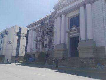 Órgano Judicial cierra sus puertas y suspende la atención
