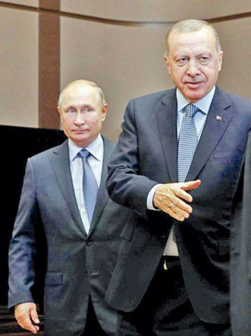 Rusia y Turquía aprueban zona de seguridad en Siria