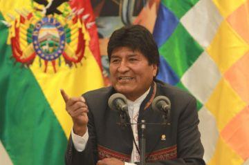 """Evo Morales: """"Si el resultado final dice vamos a segunda vuelta, vamos a ir"""""""