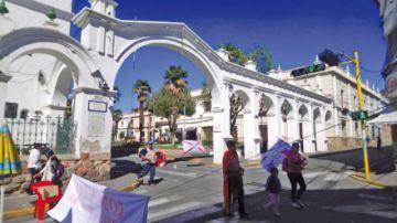 El primer día del paro cívico halla eco en los ciudadanos