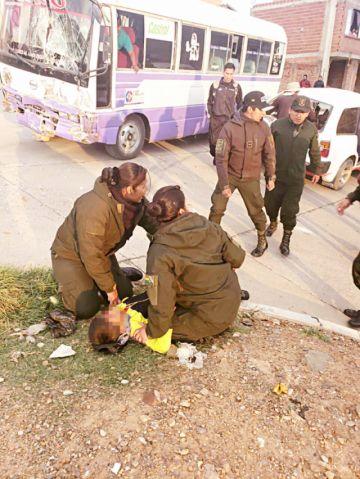 Mujer fallece atropellada por un vehículo