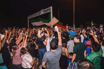 Las movilizaciones nocturnas no cesaron en La Paz, Cochabamba y Santa Cruz