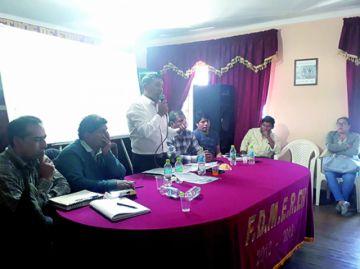Maestros rurales llaman a asamblea por coyuntura actual