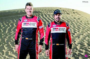 Alonso-Coma, en el Dakar 2020