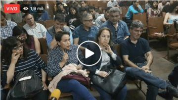 En vivo: Asamblea de Instituciones convocada por el Comité Cívico