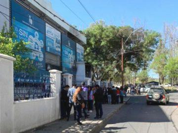 Dictan detención preventiva para presunto autor de destrozos del SIN en Tarija