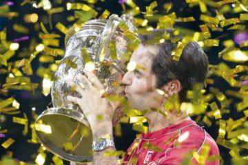 Federer se consagra en Basilea por décima vez