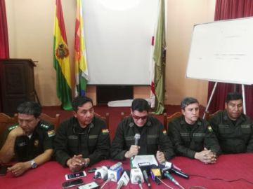 Policía en Sucre niega división interna