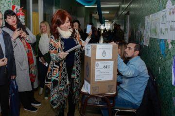 Justicia argentina libra de juicio a Vicepresidenta electa