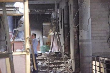 Descartan daños estructurales en dos viviendas contiguas al TED