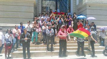 Universidad decide cercar pacíficamente instituciones del Estado