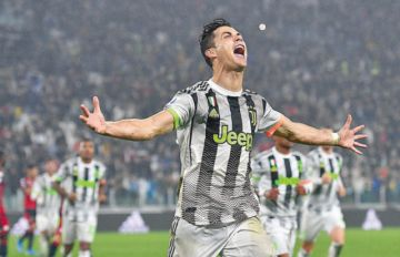 Cristiano rescata  al Juventus con  un gol de penal