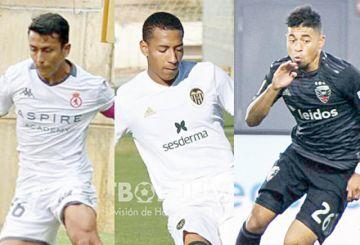Tres legionarios en la Selección Boliviana Sub 23